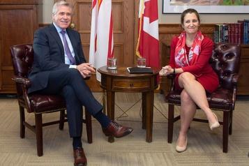 Freeland salue la coopération entre les premiers ministres de la région atlantique