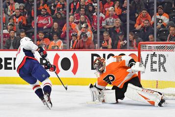Les Capitals viennent à bout des Flyers en fusillade