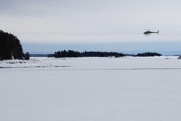 Motoneigistes disparus: un hélicoptère de la SQ s'écrase