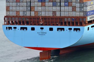 Dopé par la surchauffe du transport maritime, Maersk relève ses prévisions annuelles)