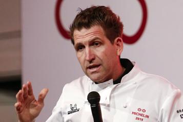Le chef Alexandre Mazzia, nouveau 3 étoiles Michelin)