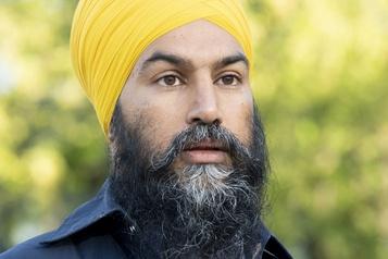 Débatsdes chefs : Singh revient à la charge pour exclure Bernier