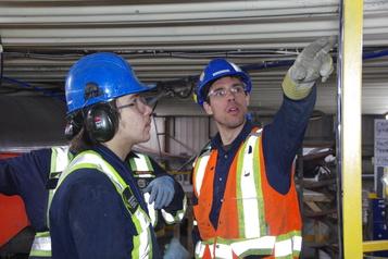 Mines Minopro Cree: alliance profitable entre Blancs et Cris)
