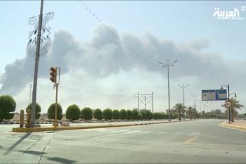 Production de pétrole saoudien attaquée: les É.-U. «prêts à riposter»