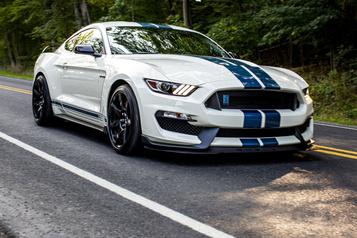 Ford Ford dit au revoir à la ShelbyGT350)