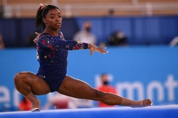 Gymnastique Simone Biles reprendra la compétition à la poutre)
