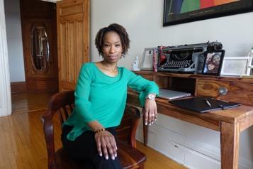 Maya Johnson, première cheffe d'antenne noire à CTV Montréal)