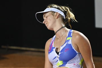 Svitolina chute en quarts de finale à Rome)