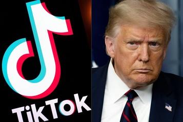 Trump: TikTok devra être vendu avant mi-septembre)