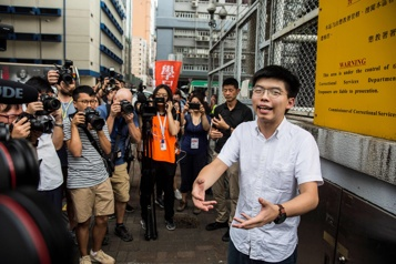 Veillée de Tiananmen interdite Un militant hongkongais condamné à 10mois de prison)