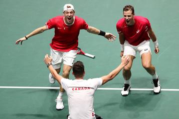 Le Canada en demi-finales de la Coupe Davis