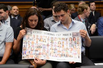 Des avocats de victimes veulent des documents sur le 737 MAX