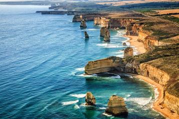 Australie: sur la grande route del'océan)