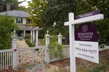 États-Unis Les reventes de maisons grimpent en janvier, poussées par la forte demande)