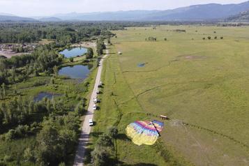 Trois montgolfières s'écrasent au Wyoming)