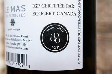 IGP Vin du Québec: des vins certifiés par Ecocert, mais pas bio