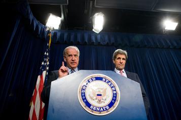 John Kerry, candidat présidentiel en 2004, soutient Joe Biden