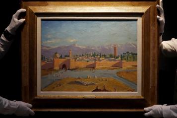 Une toile de Winston Churchill vendue pour plus de 12millions)