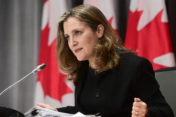 Canada Une mise à jour économique le 30novembre)