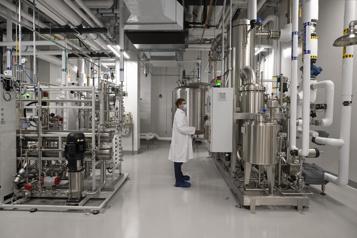 Montréal Au cœur du nouveau centre de production devaccins)