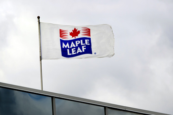 Profits et revenus en hausse pour Maple Leaf)