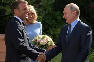 Échange virulent entre Poutine et Macron sur les gilets jaunes