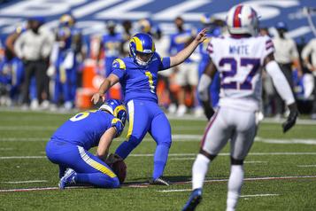 Six bottés ratés en sept matchs : les Rams congédient Samuel Sloman)