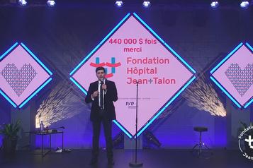 444 000$ pour l'Hôpital Jean-Talon)
