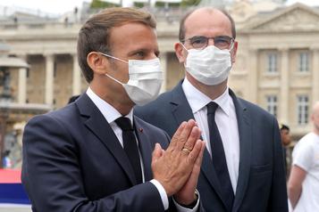 France: Macron souhaite rendre le masque obligatoire dans les lieux publics clos)