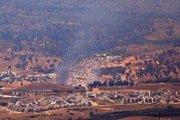 Tirs de roquettes du Liban vers Israël, riposte israélienne)