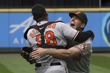 Orioles de Baltimore Un match sans point ni coup sûr pour John Means)