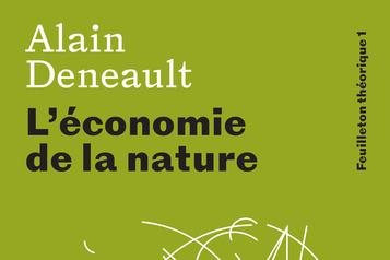 Extrait de L'économie de la nature: une pensée des relations au vivant)