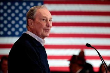 Investiture démocrate: un premier test pour Michael Bloomberg