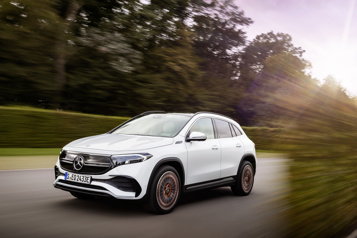 Mercedes présente un multisegment électrique d'entrée de gamme)