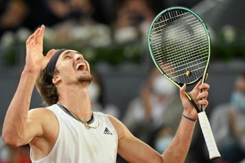 Alexander Zverev triomphe à Madrid)