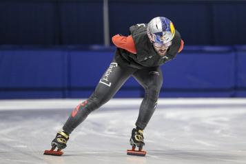 Mondiaux de patinage de vitesse sur courte piste Charles Hamelin compte s'inspirer de Laurent Dubreuil)