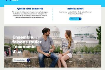 Le Panier Bleu: «Comme uneannonce au ByeBye» pour les commerces locaux