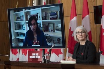 COVID-19 au Canada Le gouvernement libéral défend sa gestion des vaccins)