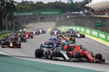 Formule 1 Le Grand Prix du Brésil à Interlagos jusqu'en 2025)