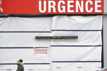 Salles d'urgence Le taux moyen d'occupation en baisse lundi)