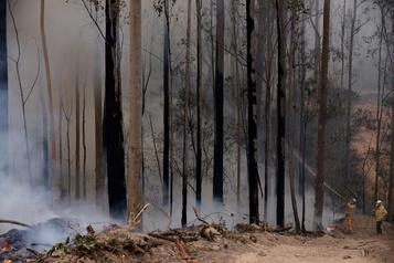 Australie: «J'ai vécu l'apocalypse», témoigne un pompier québécois