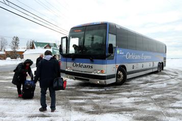 Gaspésie Possible abandon du service d'autocars d'Orléans Express dès février)