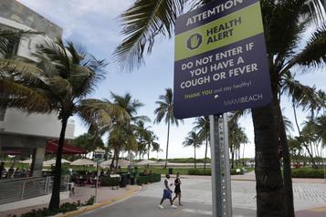 Floride: plus de 10000 nouveaux cas de COVID-19, un record)