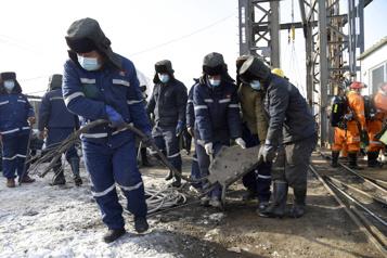 Mineurs coincés en Chine Des signes de vie détectés par les sauveteurs)