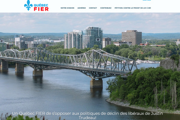 Le groupe de pression Québec Fier visé par une plainte électorale