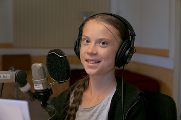 Climat: Greta Thunberg va reverser le million d'euros d'un prix portugais)