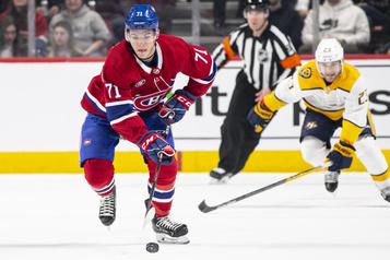 Evans accepte une prolongation de contrat du Canadien)