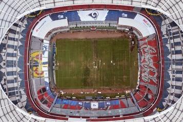 NFL: le stade Azteca de Mexico veut faire oublier le rendez-vous raté de 2018
