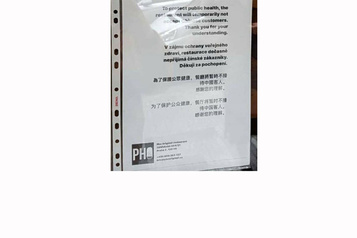 Coronavirus: un restaurant de Prague refuse l'entrée aux clients chinois
