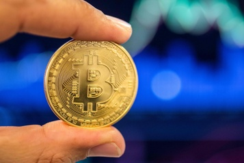 Le bitcoin perd plus de 10% en deux jours)